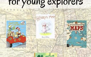 Map Books for Young Explorers