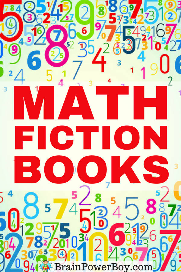 The Very Best Math Fictions Books broken down by age. Find the right books to help your kids learn math through reading.