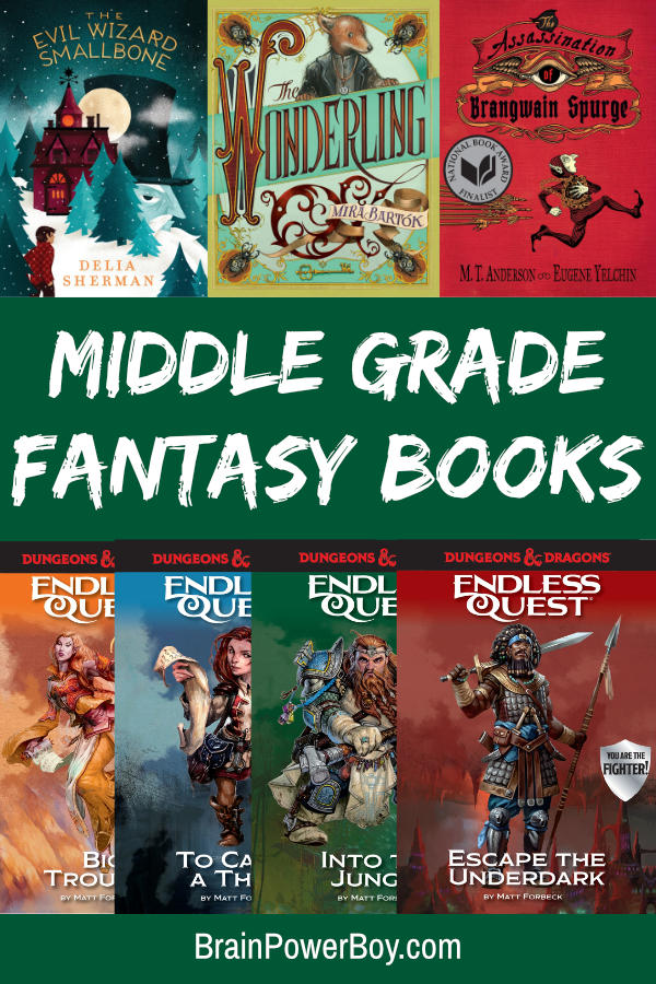 Middle Grade Fantasy Books that are complete page turners!