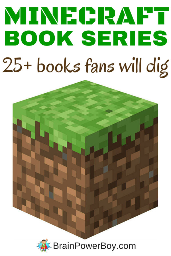 Want to get your Minecraft fan reading? Try these Minecraft book series! They won't be able to put them down. 25 plus books and more on the way. Click the image to see the list.