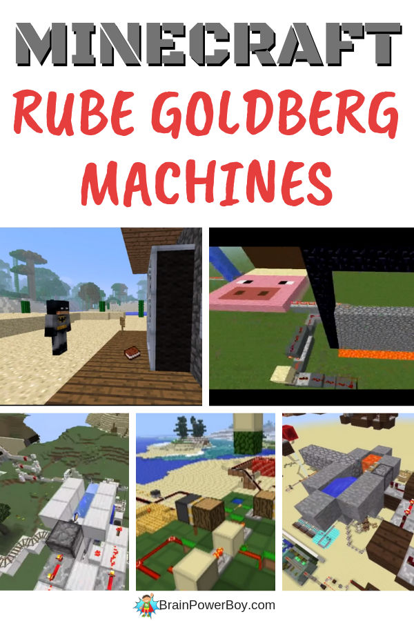 Minecraft Rube Goldberg Machine Videos! You have to watch them. So cool!