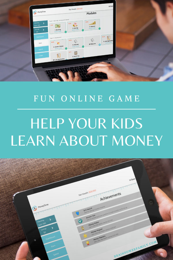 Financial Literacy for Kids Game