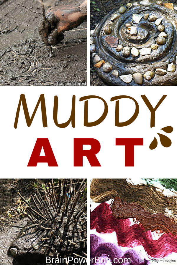 Mud and art? You bet! Try a these incredible muddy art projects for a wonderfully different art experience. Plus see the best mud activities ever.