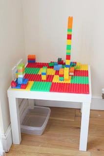 Multicolor Duplo Table