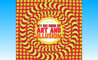 My Big Book of Art and Illusion Book Review | BrainPowerBoy.com