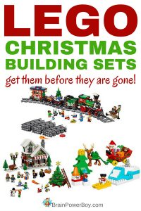 If you like to give (or get!) LEGO for Christmas, you have to check out these NEW LEGO Christmas sets! They are perfect for holiday giving and holiday building. There are village sets, Advent calendars, train sets and many more LEGO sets to make your holiday bright. Click to see them all.
