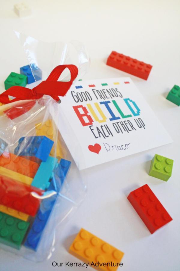 Non Candy Lego Valentine