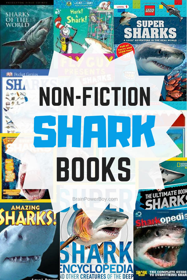 We picked the very best non-fiction shark books so you could share them with your kids. These are the books you need if you have someone who wants to learn more about sharks. The pictures are awesome and they will get so many cool facts you just know they are going to read and read! Click to get the whole list now.