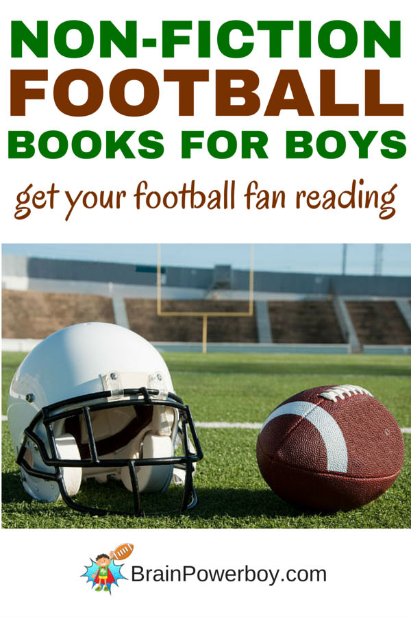 Non-fiction football books guaranteed to get your football fan reading. Click picture to see book list.