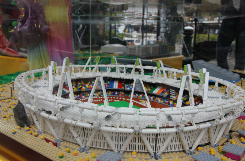 Olympic Park in LEGO by Warren Elsmore