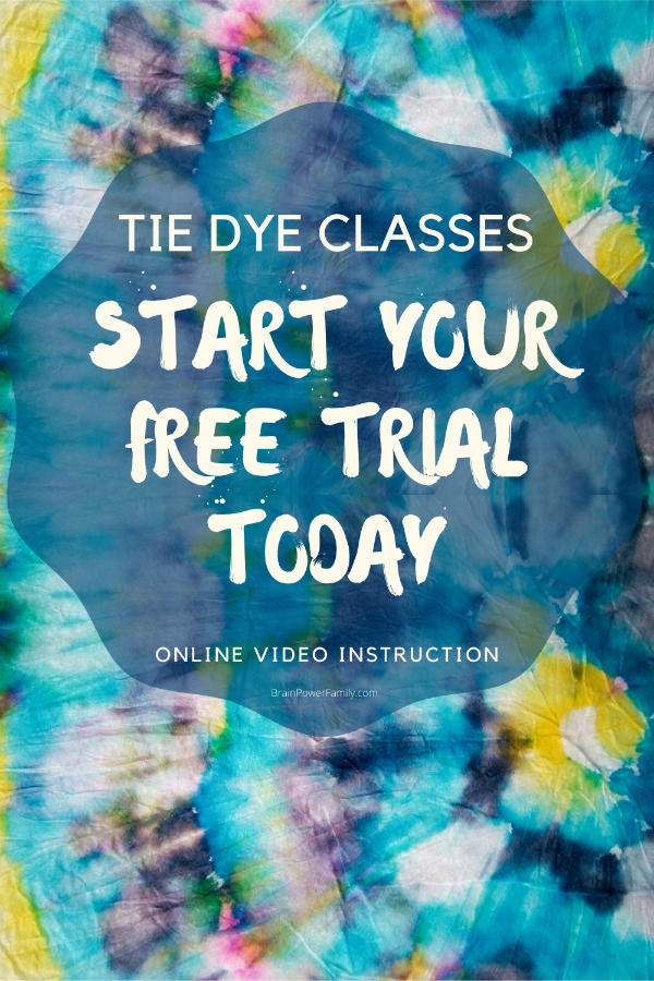 Online Tie Dye Classes