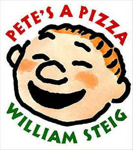 Pete's a Pizza is a story of a dad cheering up his son.