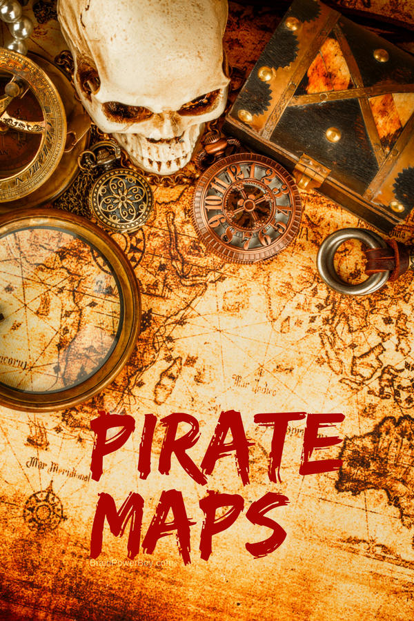 Learn about pirate maps and navigation! Part of an awesome pirate unit study that kids absolutely love.