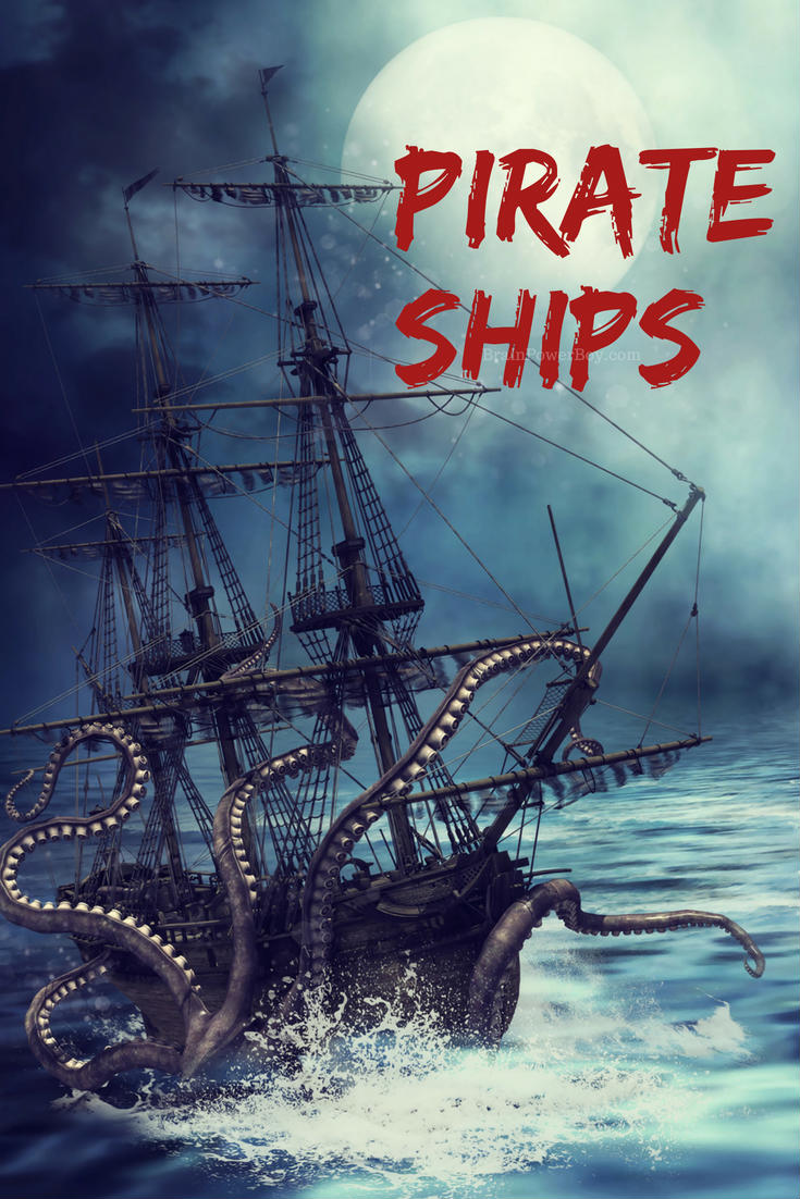 Pirate Unit Study: Ships! We found a lot of great resources for learning about pirate ships. Includes videos, games, activities, diagrams and much, much more. You might think you know a decent amount about pirate ships but you are likely very wrong.