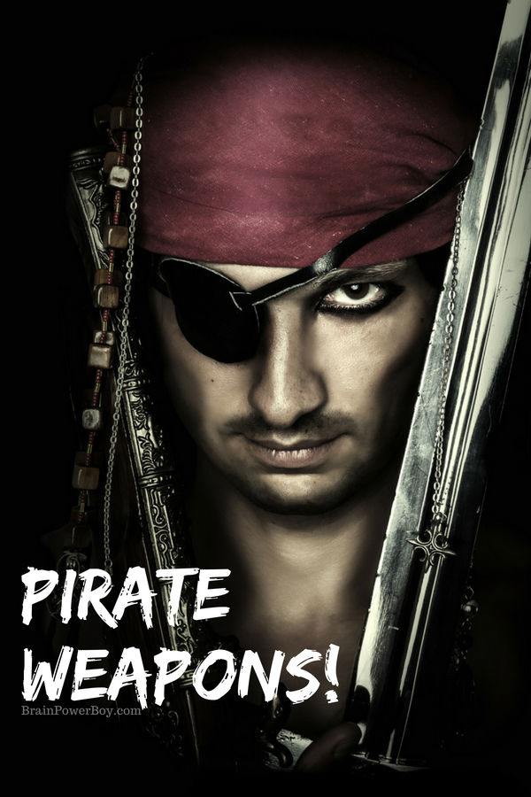 Are you curious to know what the most important pirate weapon was? It probably isn't the one you are thinking about. Learn this, and so much more, in this Pirate Unit Study on Weapons.