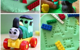 5 Ways to Play and Learn with LEGO and Playdough