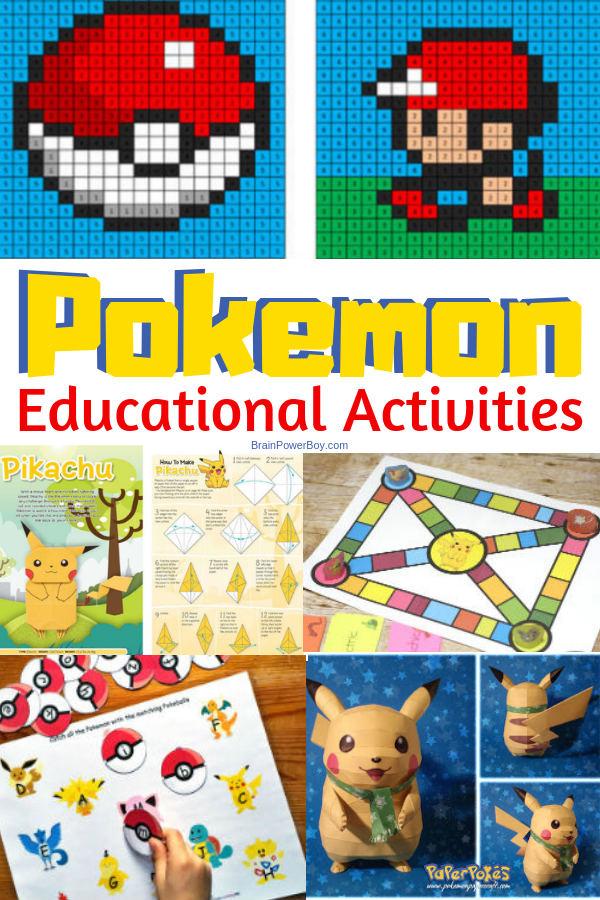 Pokemon Learning Activities – Gotta Catch 'Em All