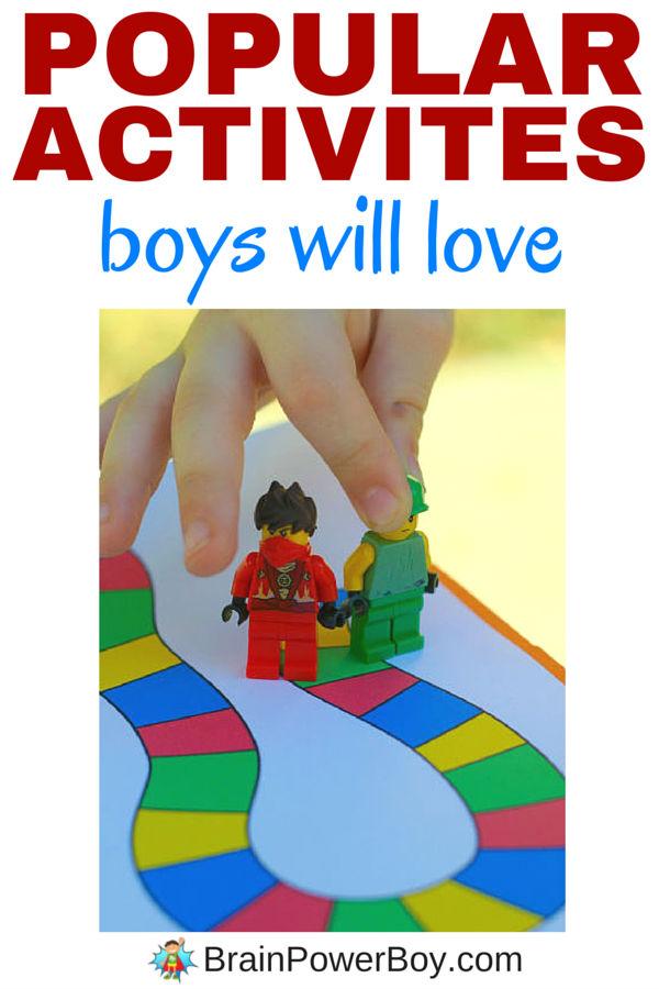 Popular Activities Boys Will Love