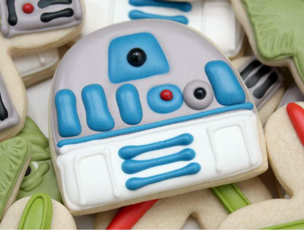 R2-D2 Star Wars Cookie