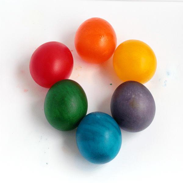 Rainbow Bouncing Eggs