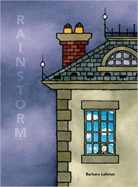 Rainstorm an fantasy wordless picture book with boy character