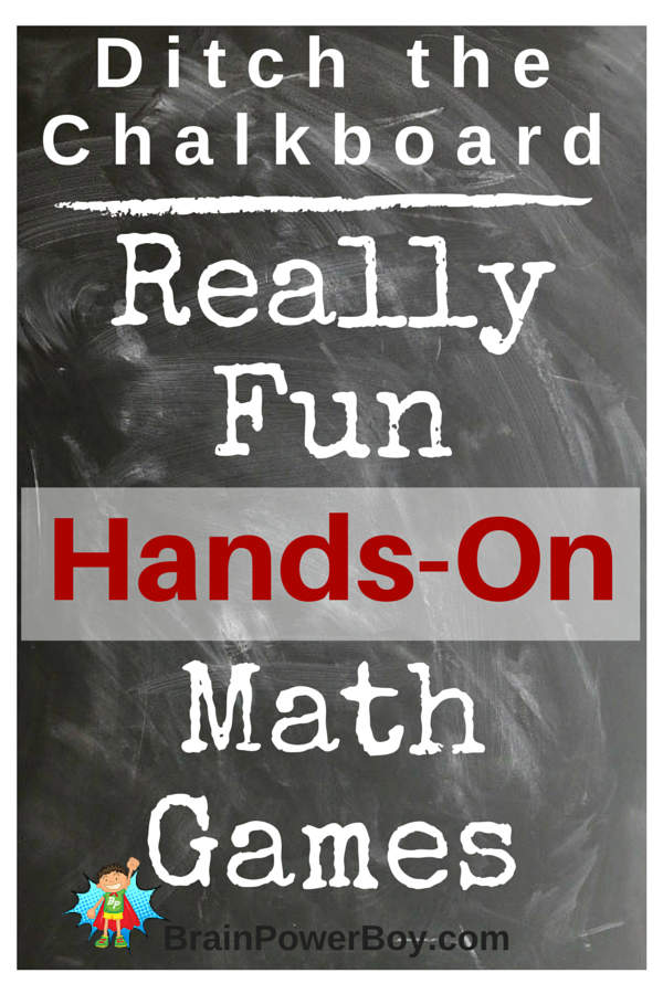 Math! It scares the heck out of some of us. We don't want that for our kids though, right? Click through for some hands-on math ideas you can use.