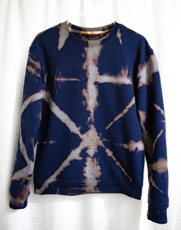 Shibori Dyed Sweatshirt