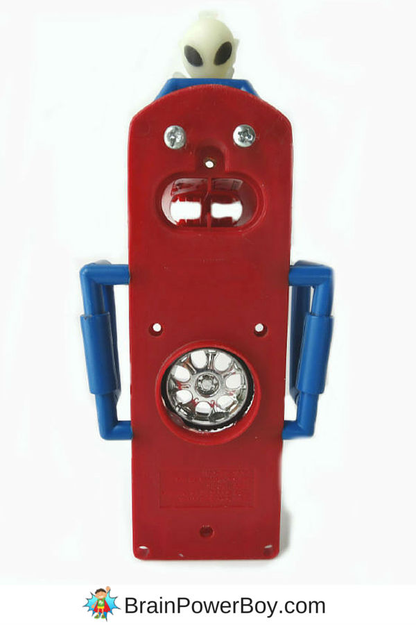 Try this great recycled toy craft project! Make a recycled robot from old and broken toys. Your kids will love this project!