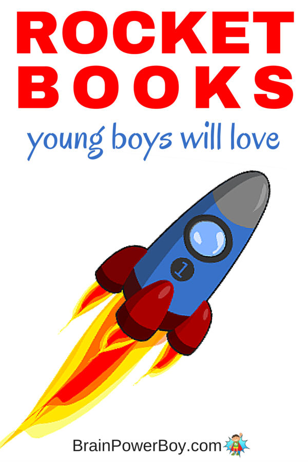 If you have a young boy who can't get enough of rockets you need to see this list of rocket books. It has fiction and non-fiction books your young space fan will love.