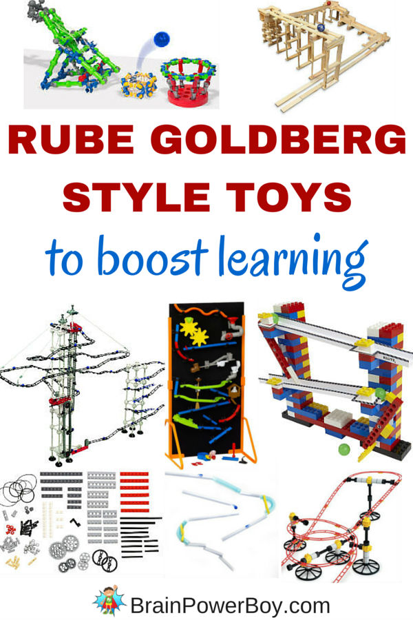 Are you looking for a super fun way to boost learning? Try these 10 incredible Rube Goldberg style toys. They are perfect! Click to see what toys will get your kids thinking and learning.