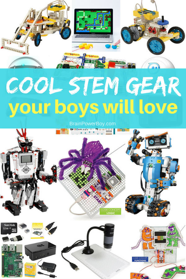 Looking for something to get your boys interested in STEM? Try these!! Tap to see them all.