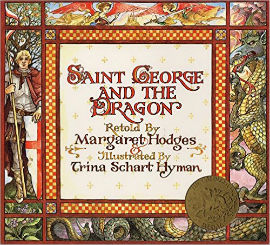 Saint George and the Dragon is beautifully illustrated and has everything a boy could want.