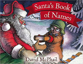 Santa's Book of Names is perfect for boys who are learning to read.