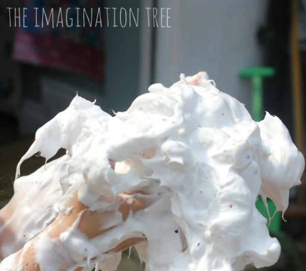 Foamy Soap Sensory Play