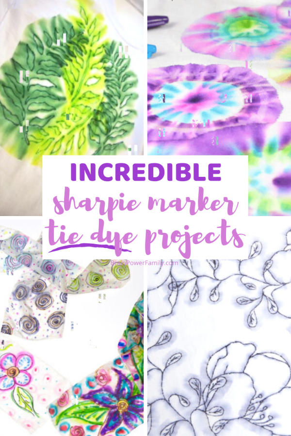 Sharpie-Tie-Dye-Projects