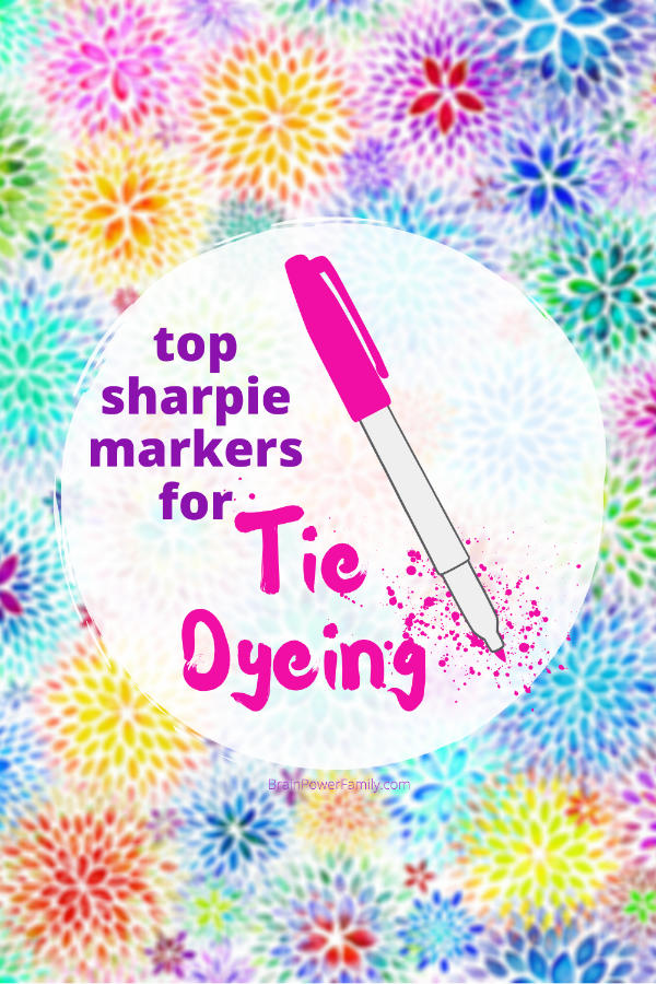 Best Sharpie Markers for Tie Dye
