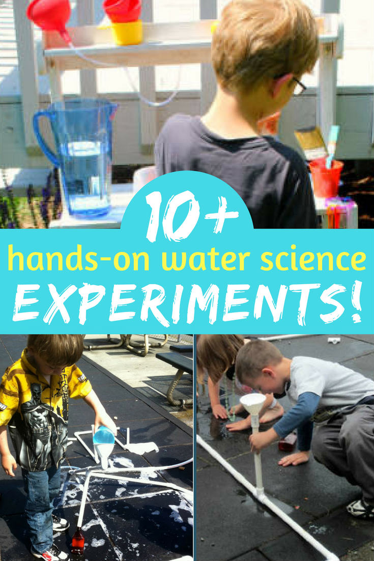 Looking for some interesting hands-on science experiments with water? Click to see them all. Hands-on learning is incredible!! They won't want to stop trying these ideas.