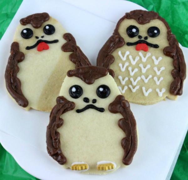 Simple Porg Cookies