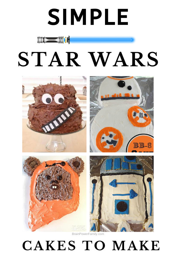 Simple Star Wars Cakes to Make at Home