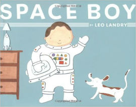 Space Boy is a charming astronaut book for boys.