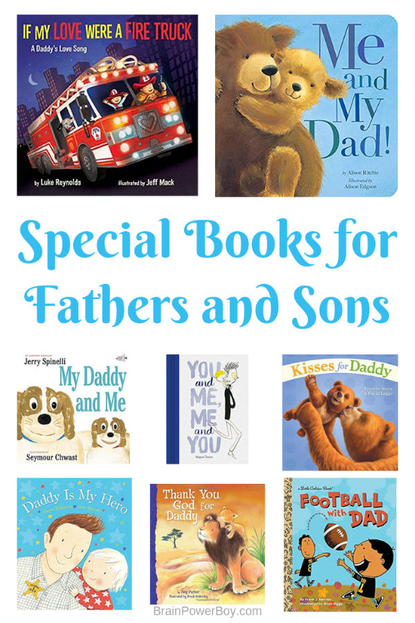Books for Dads and Boys to read together.