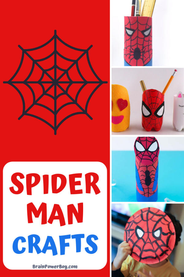 Awesome SpiderMan Crafts to Make Yourself!