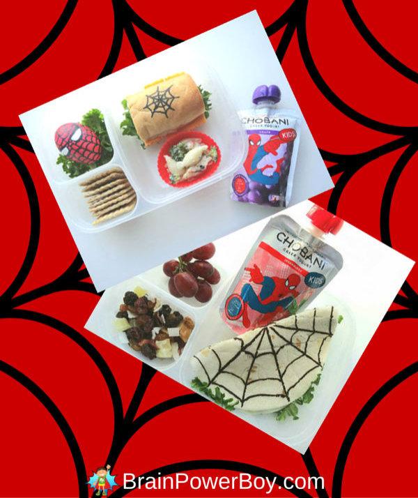 Spider-man food craft