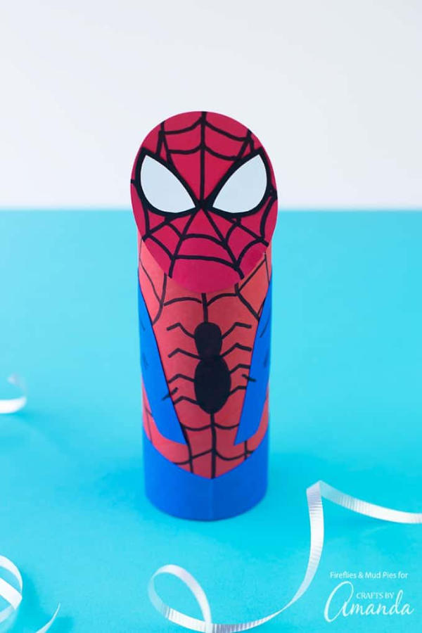 Spiderman Cardboard Tube