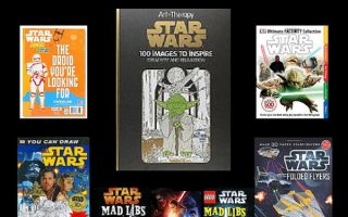Star Wars Activity and Coloring Books