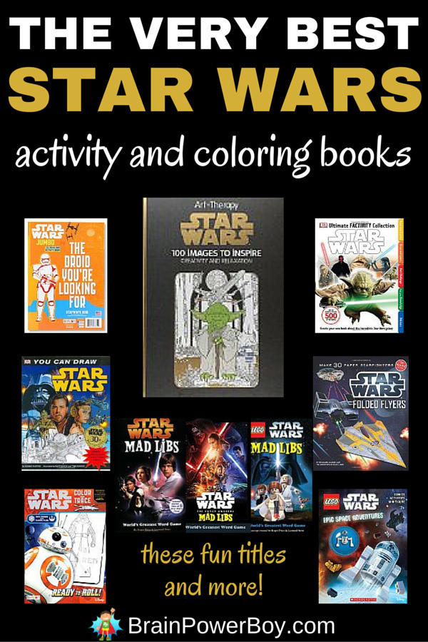 Star Wars Activity & Coloring Books