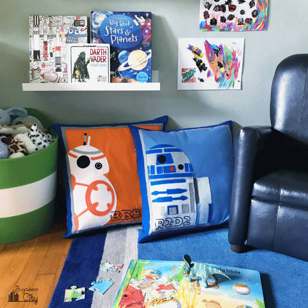 Star Wars Applique Pillows