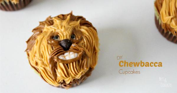 Star Wars Chewbacca Cupcakes