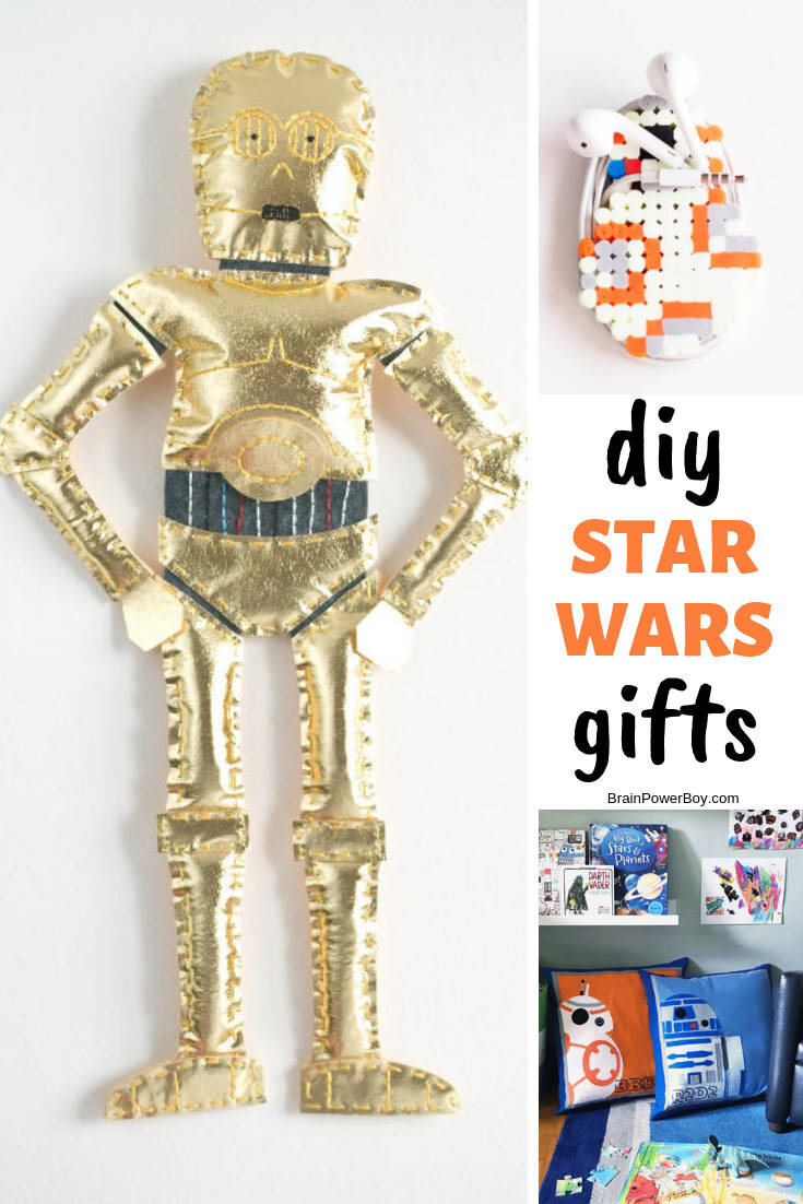 These Star Wars crafts are perfect for a little DIY time. They are very cool looking but easy to make. Fun!!