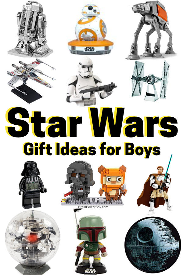 Star Wars Gifts for Boys – Must See Ideas for Your Favorite Fan